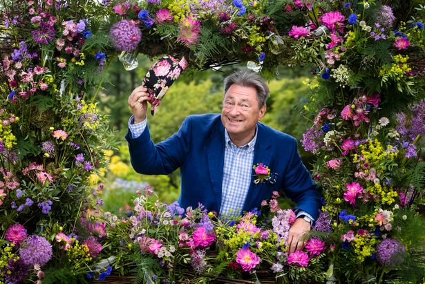TV gardener Alan Titchmarsh ahead of the opening of the RHS Garden Harlow Carr Flower Show in Harrogate, North Yorkshire.