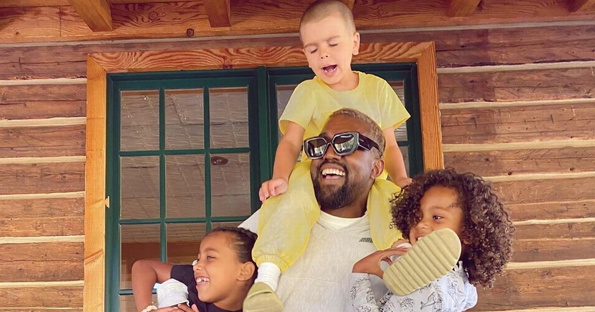 Kim Kardashian reminisces family trip as Kanye and North remain in London