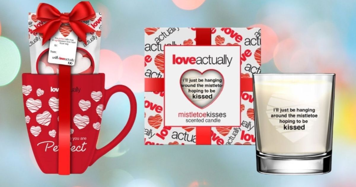 Superdrug slash 50% off Christmas beauty sets – including a Love Actually range