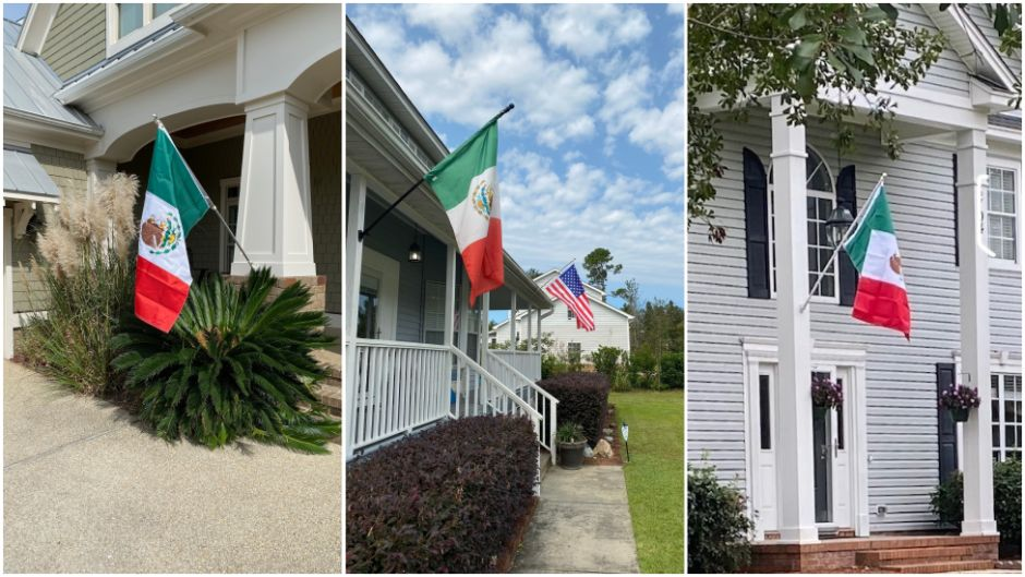Why a street in North Carolina was filled with Mexican flags | The opinion