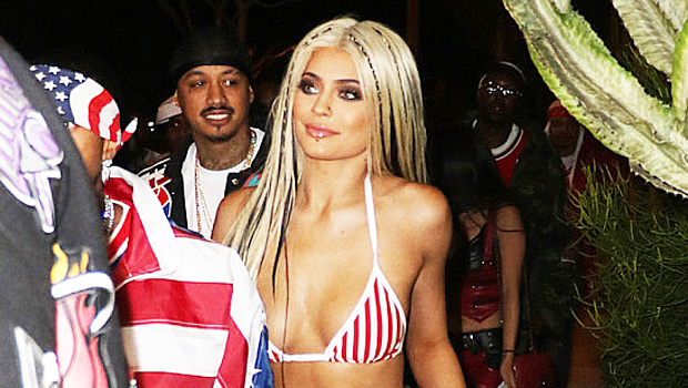 Stars Dressed As Other Stars For Halloween: Kylie Jenner As Christina Aguilera & More