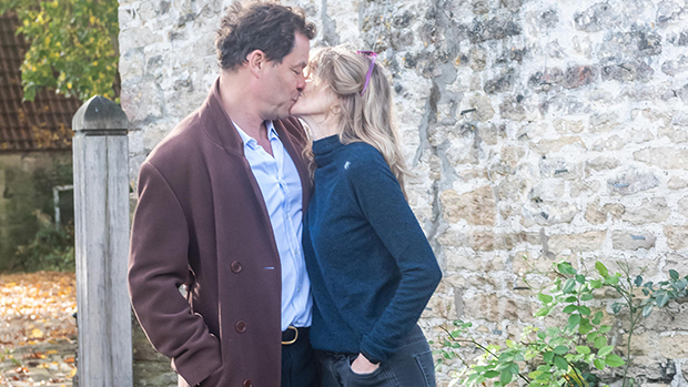 Dominic West Passionately Kisses His Wife After PDA With Lily James: 'We're Very Much Still Together