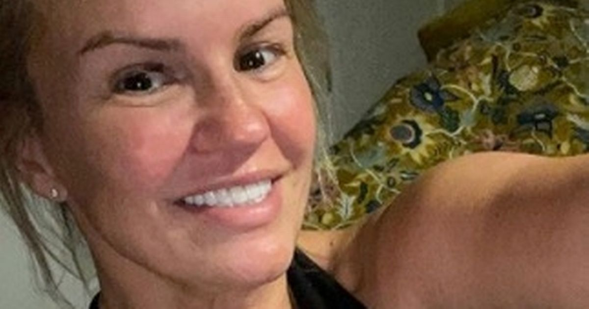 Kerry Katona devastated after gaining 1.5 stone in lockdown by scoffing treats