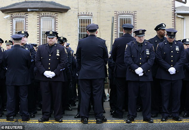 Liu died in a Dec 2014 ambush after the death of Eric Garner. The gunman then killed himself
