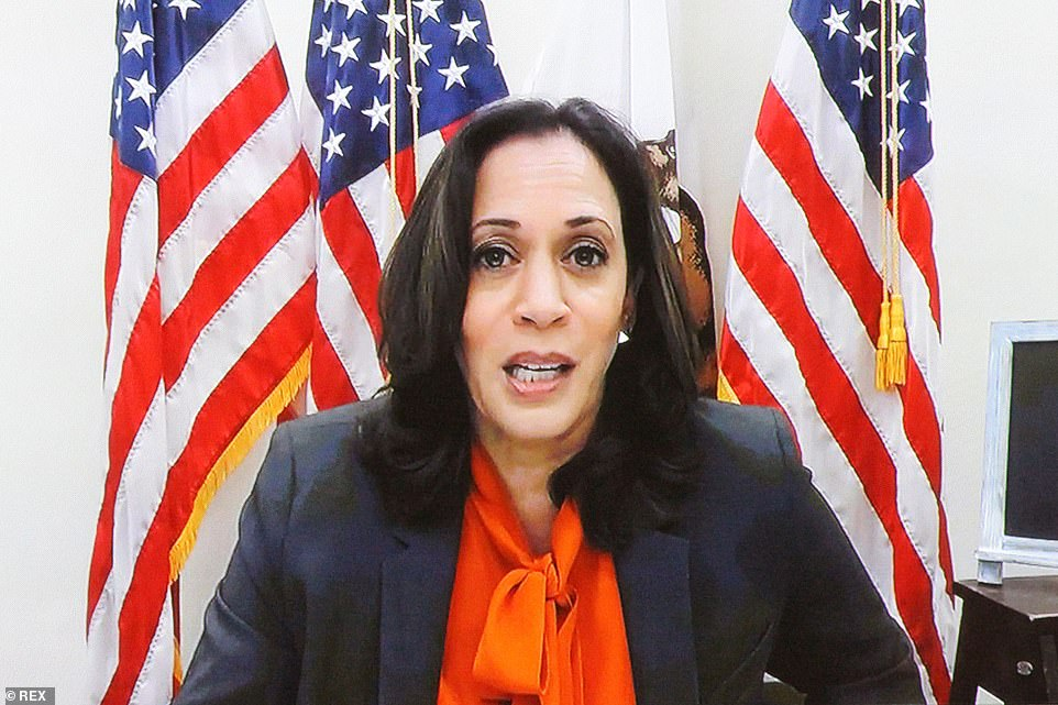 Remote questions: Kamala Harris, the Democratic vice-presidential candidate made Obamacare and abortion rights the center of her questions for Coney Barrett