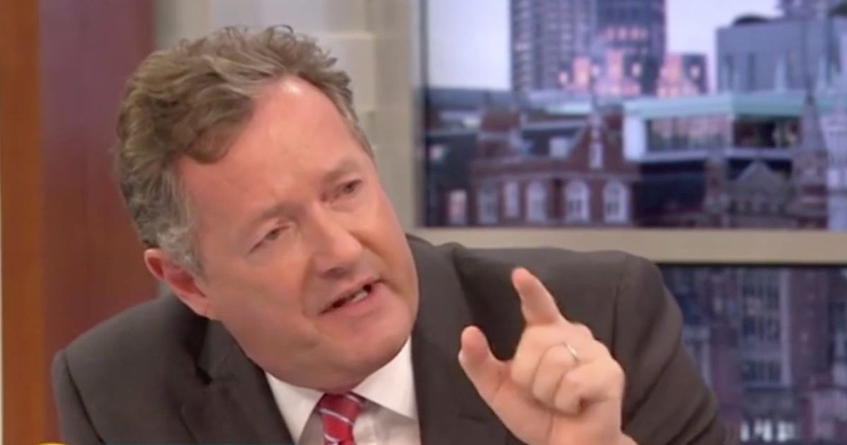 Piers Morgan reignites feud with 'deluded' Denise Welch for 'downplaying Covid'
