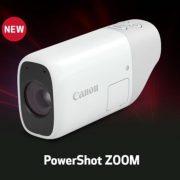 Canon PowerShot Zoom Pocket-Sized Monocular Telephoto Camera Launched