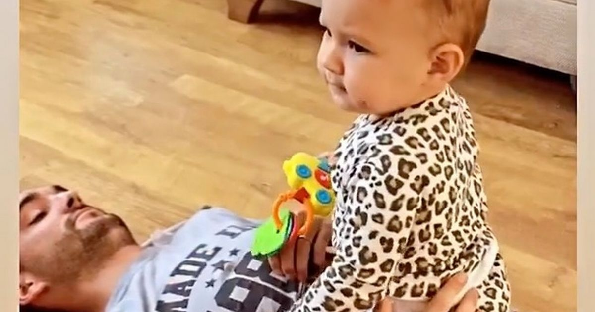 Tom Parker plays with daughter in sweet video after brain cancer diagnosis