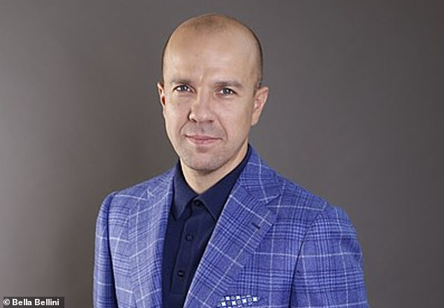 Burisma adviser Vadym Pozharskyi (pictured) thanked Hunter Biden for 'an opportunity to meet your father' in an email sent in 2015. Giuliani said he gave the email to the NY Post