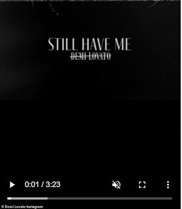 Another release:Commander In Chief comes almost two weeks after another song from the star, titled Still Have Me, which seems to be a breakup track after her recent failed romance