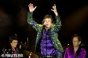 The Rolling Stones got two touring nominations