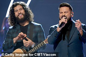 Dan + Shay are up for four awards, including their collaboration with Justin Bieber