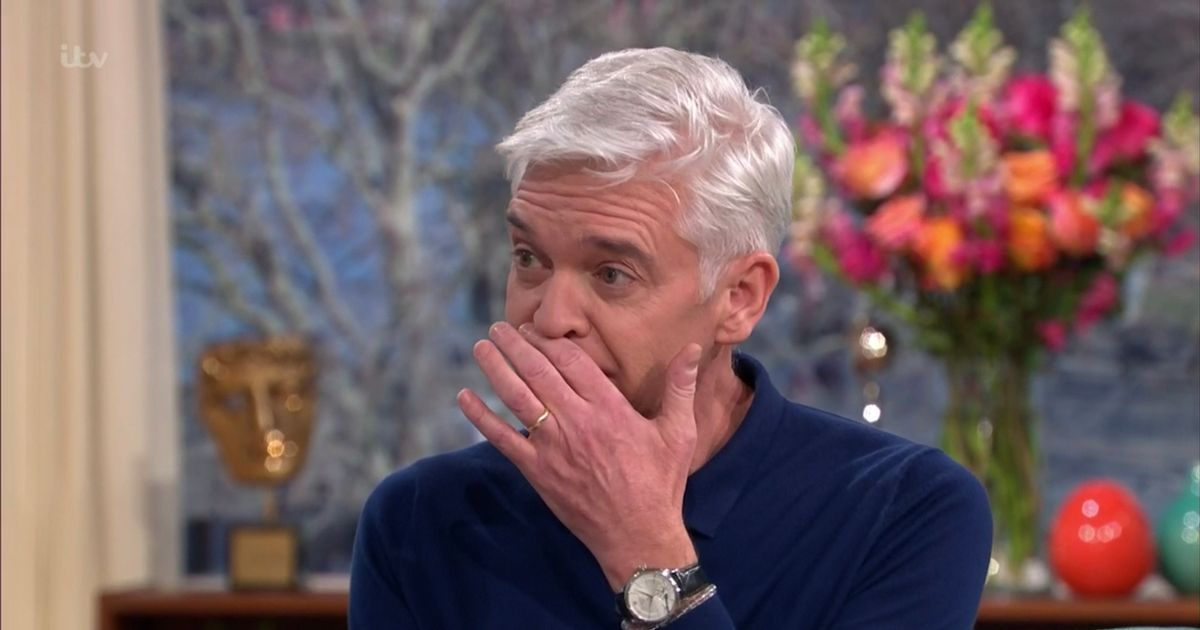 Phillip Schofield's secret torment – losing weight, vomiting and missing work