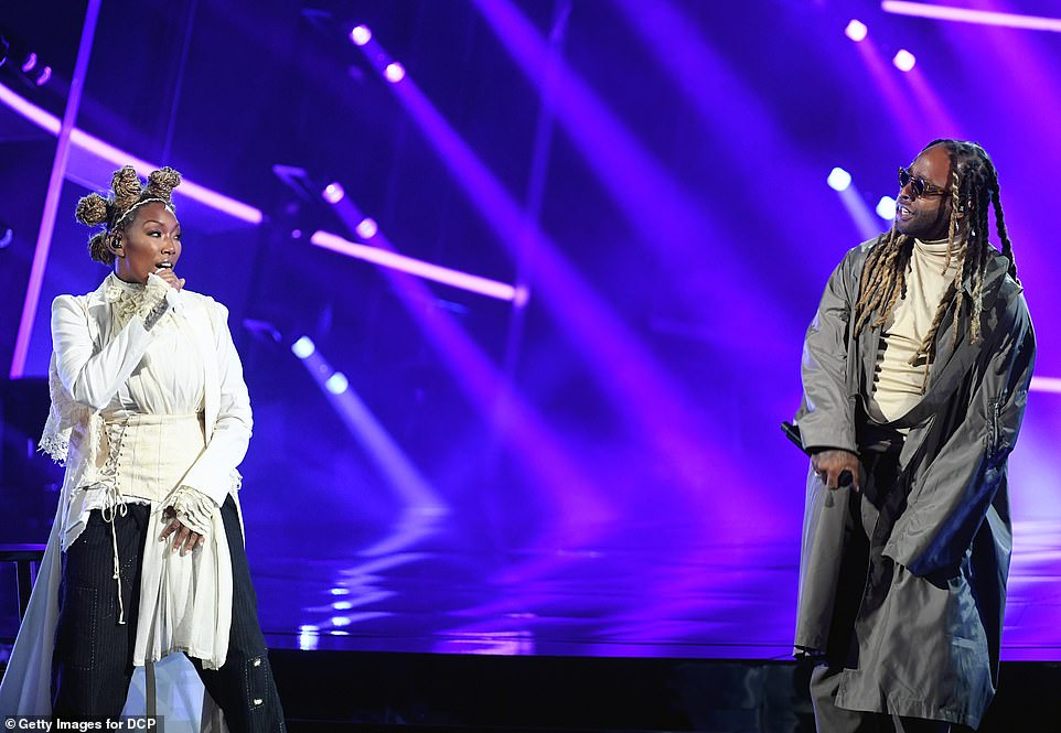 Let's do it! Brandy and Ty Dolla$ign performed No Tomorrow together