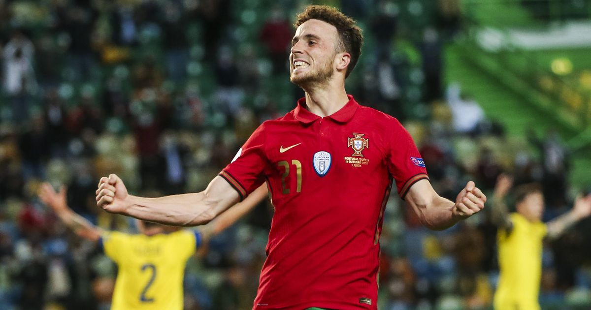 "Diogo Jota revels in his ""highest moment"" as Portugal's stand-in for Ronaldo"