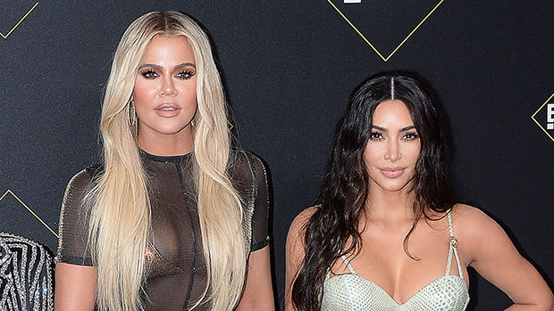 Khloe Kardashian Looks Identical To Kim In Tight Jumpsuit & Ariana Grande-Inspired Ponytail