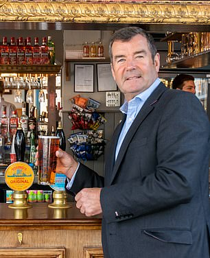 Patrick Dardis, Chief Executive of Young's Pubs brewery group