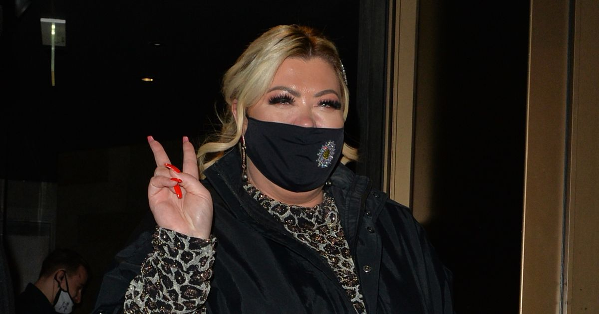 Gemma Collins hits the town for last hurrah before tougher Covid-19 restrictions
