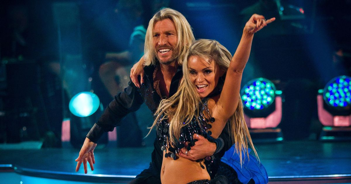 Robbie Savage's mum Val tells all about her visit behind the scenes at Strictly
