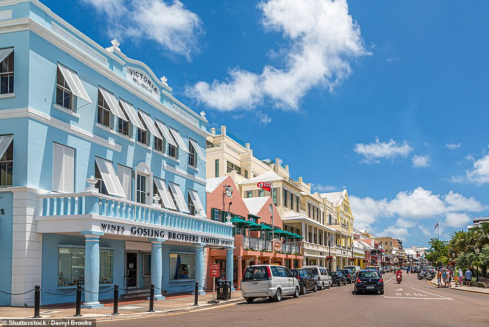 If you're travelling to Bermuda, pictured, pack a thermometer. That's because temperatures must be taken twice a day and reported online