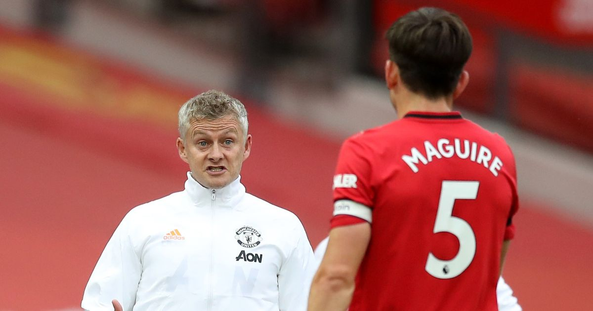 Ole Gunnar Solskjaer responds to critics over his handling of Harry Maguire