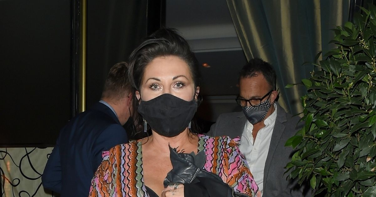 EastEnders' Jessie Wallace flashes bra in wardrobe malfunction on night out