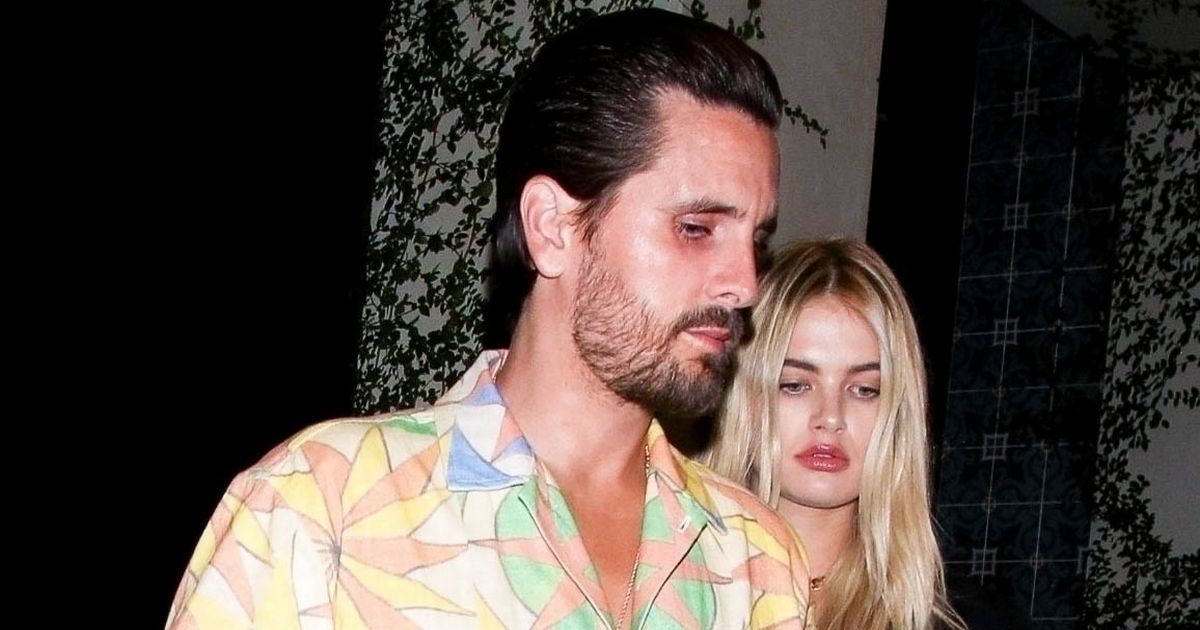 Scott Disick parties with stunning model in Hollywood after Sofia Richie split