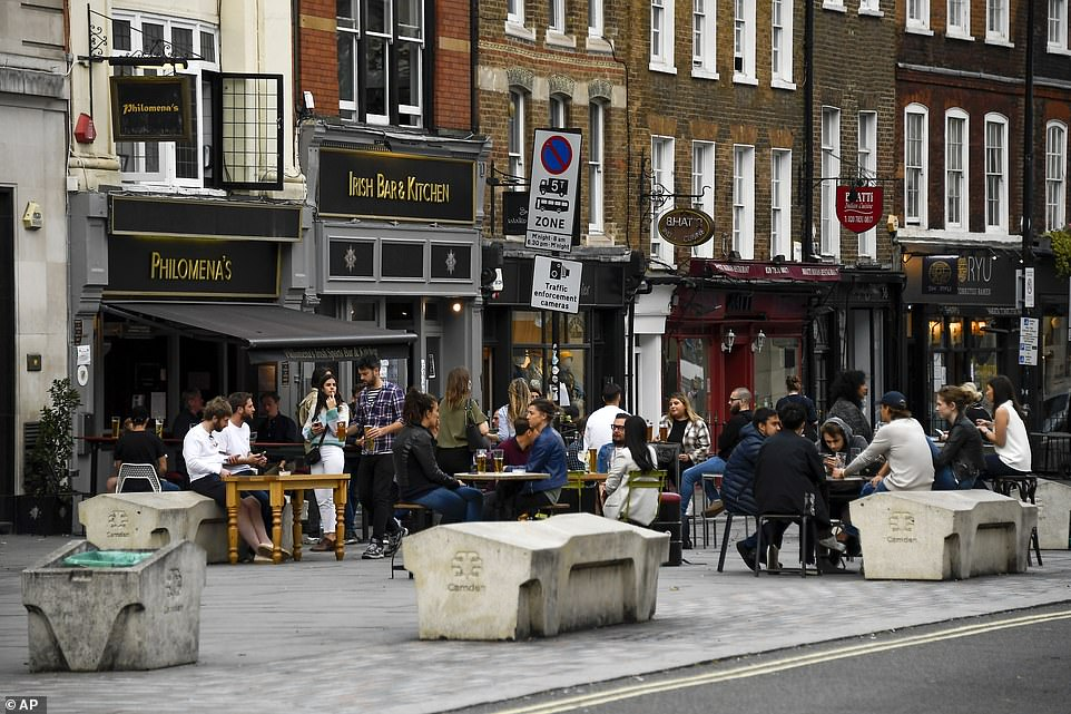 Busy bars and restaurants in the capital had already seen restrictions like the 10pm curfew before Tier 2 was introduced