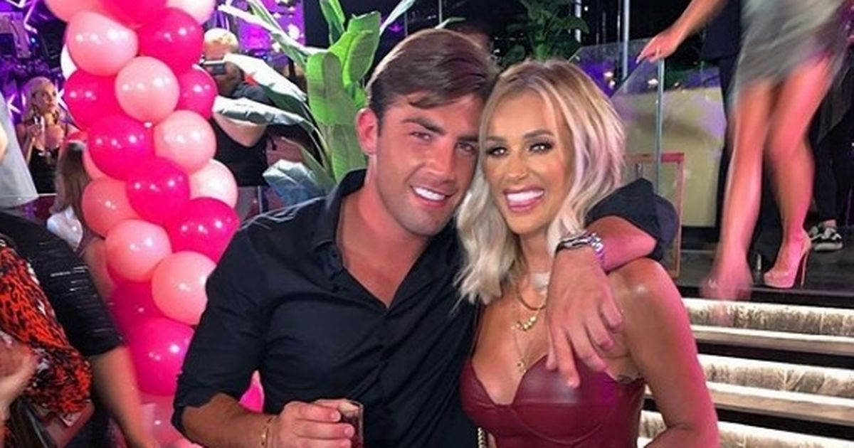 Love Island's Jack Fincham and Laura Anderson 'growing close and locked lips'
