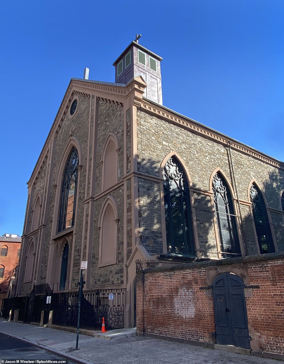 The Basilica of St. Patrick's Old Cathedral (pictured) has begun building hundreds of cremation niches that sell between $10,000 and $15,000