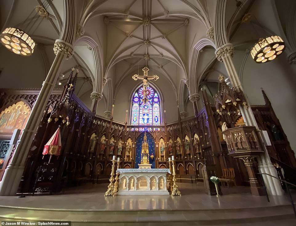 St. Patrick's Old Cathedral is said to be the final resting place of 'the people that set the Catholic faith in motion in New York'
