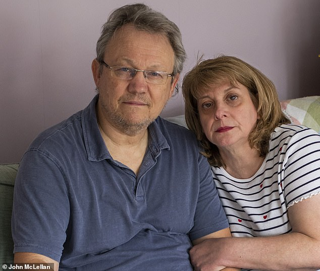 Johnson and Hancock, if you care so much about lives, get in touch with Lisa King, as I did. Ask her to tell you about how her husband Peter (pictured together), a retired taxi driver aged 62, died