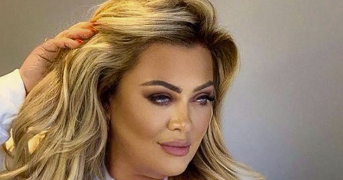 Gemma Collins gets 'permanent contour' treatment on face in latest beauty hack