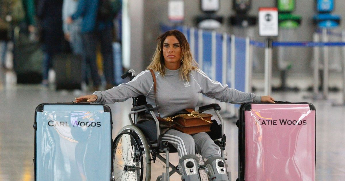 Katie Price sparks rumours she's married Carl Woods