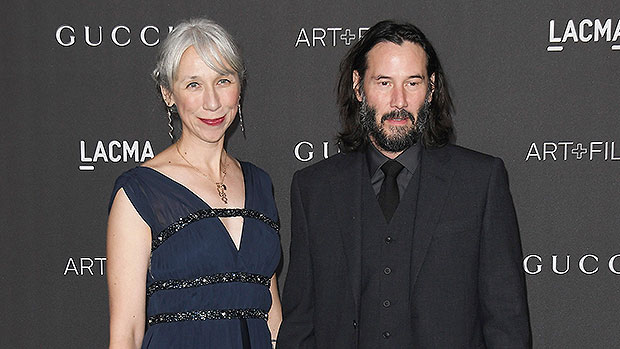 Keanu Reeves Kisses GF Alexandra Grant As He Heads To Set For 'The Matrix 4' — See Pic