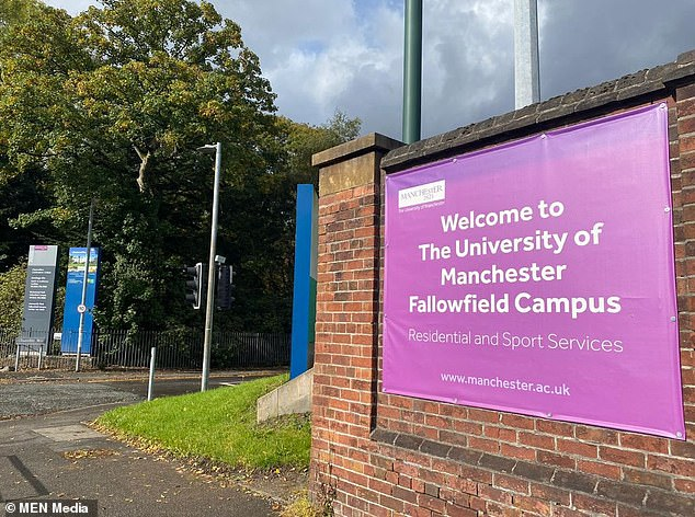 Mr Kitson, a former Cambridge City FC youth player, was discovered at the university's Fallowfield Halls residential centre