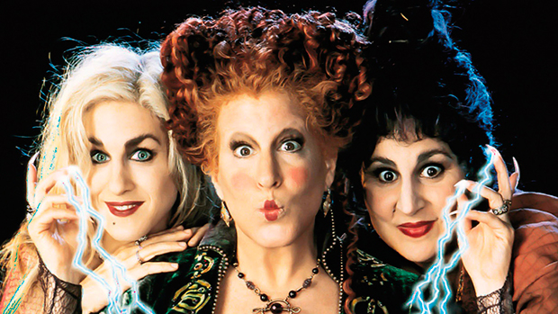 Bette Midler Reveals 1st Look At 'Hocus Pocus' Reunion With All 3 Witches In Costume 27 Years Later
