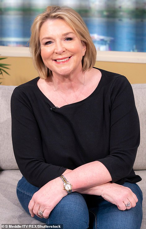Fern Britton came out to defend Leslie at his trial