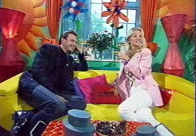 Leslie and Ulrika Jonsson pictured presenting Big Breakfast back in 1993