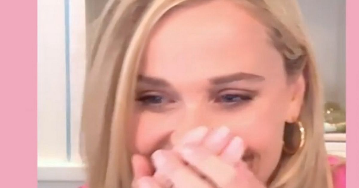 Reese Witherspoon cries as she reunites with Legally Blonde cast 20 years on