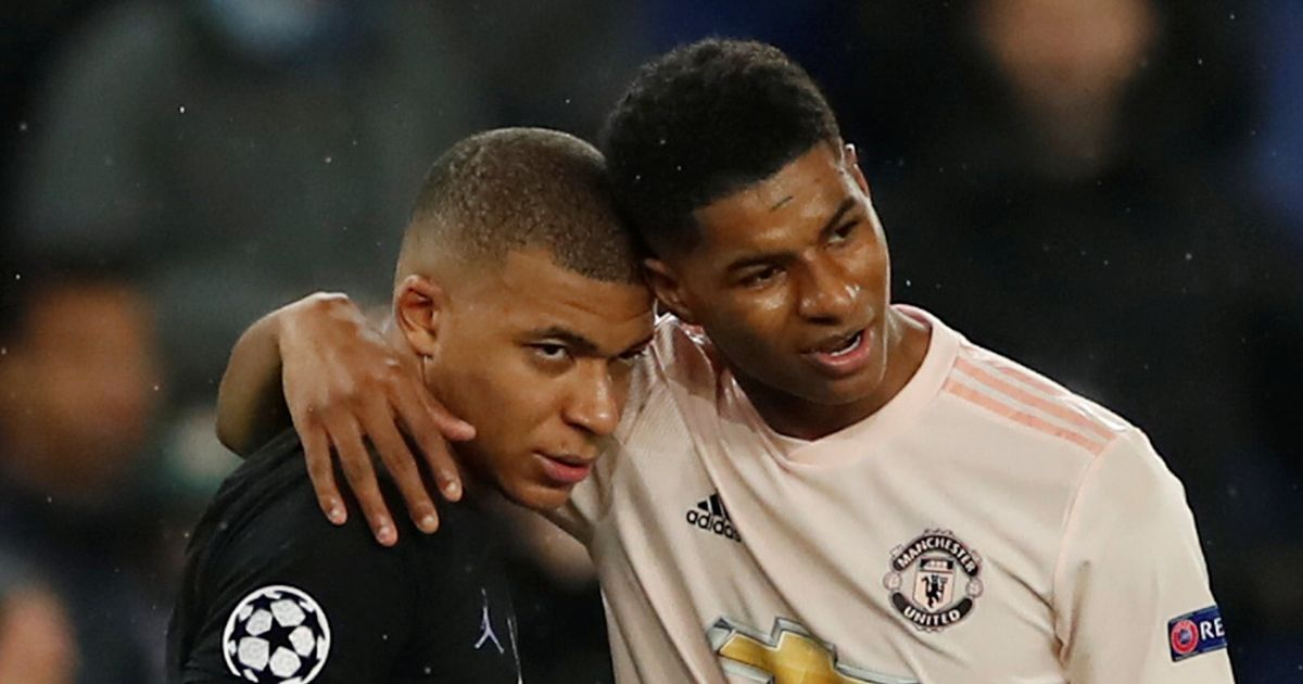 Mbappe hails Rashford impact on and off the pitch ahead of PSG vs Man Utd