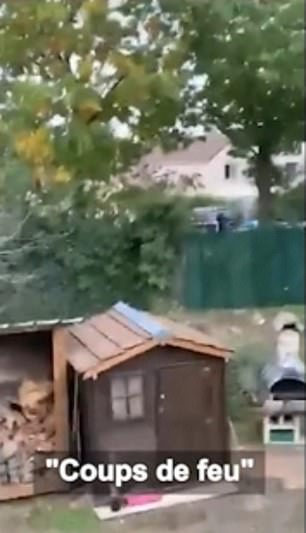 Armed police yelled at the killer to 'throw your gun' and 'get on the ground' during the showdown in the Paris suburbs, but the terrorist ignored the repeated warnings and refused to drop his weapon