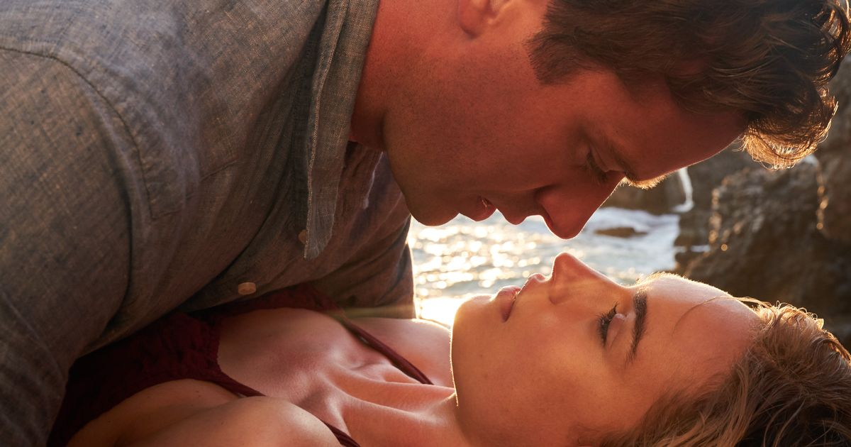 Lily James romps on beach with hunky Armie Hammer in steamy Netflix film Rebecca