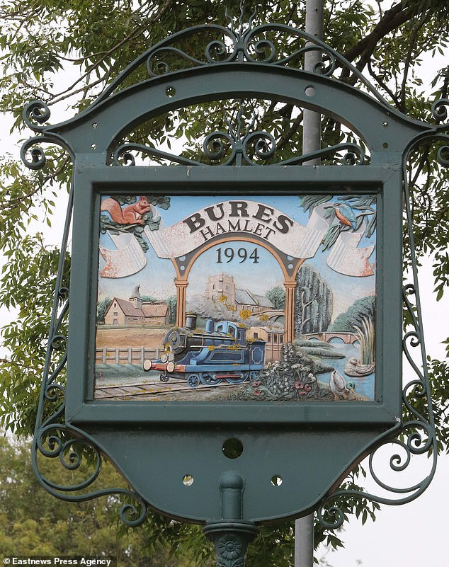 The village of Bures is made up of two civil parishes, Bures Hamlet in Essex and Bures St Mary in Suffolk