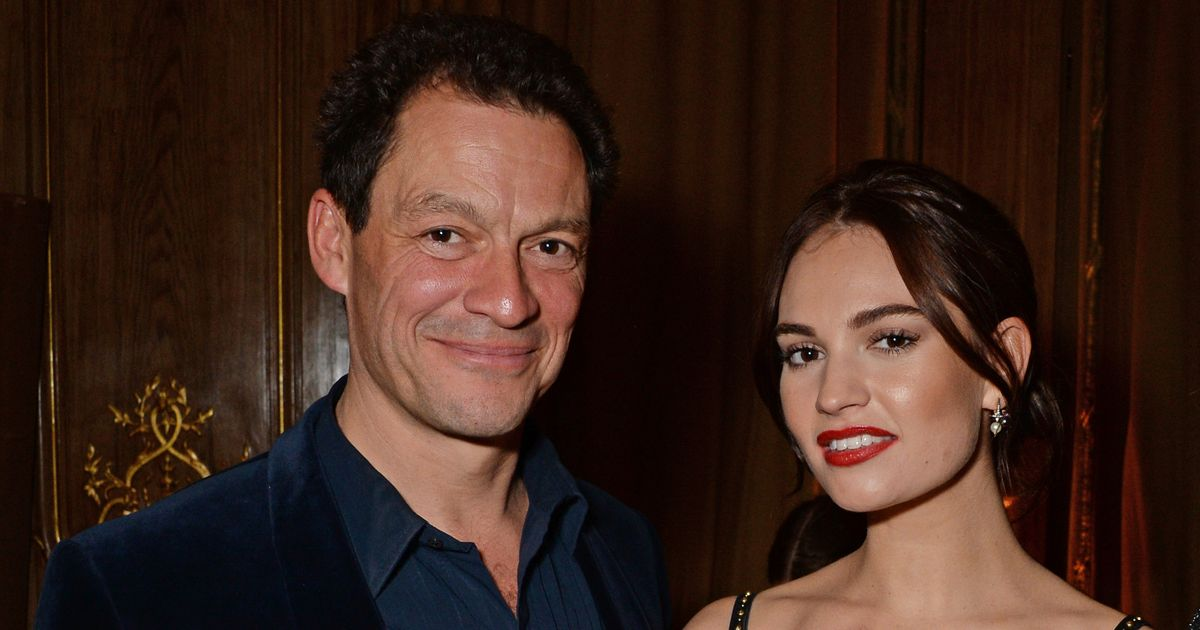 Single Lily James viciously trolled after kiss scandal with married Dominic West
