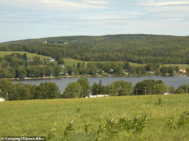 People enjoy the camping sites of l'Ouiseau Blu which has a golf course and lake swimming