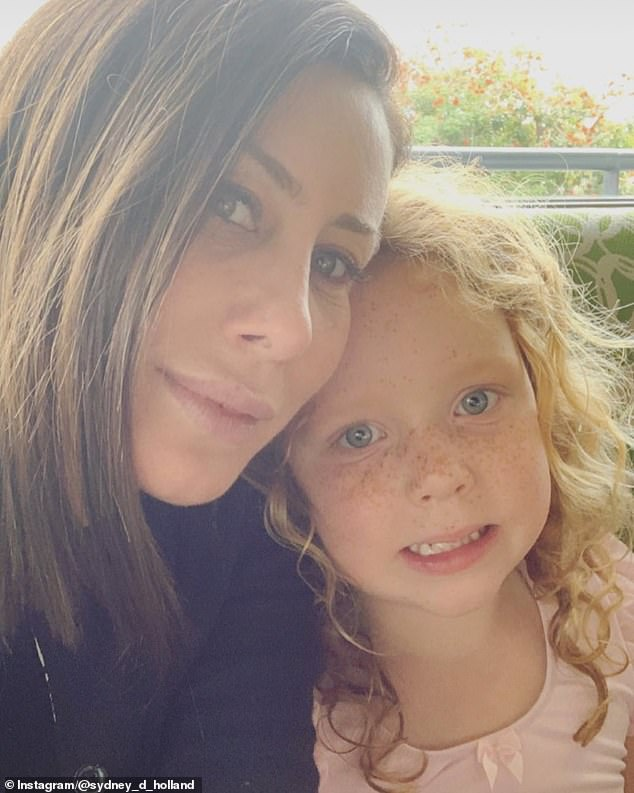 A surprising beneficiary is Sydney Holland's daughter Alexandra Red Holland, seven, whose paternity has never been revealed. Many have speculated that 'Red' stands for Redstone