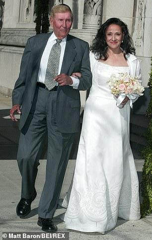 Redstone married New York City teacher Paula Fortunato in 2003