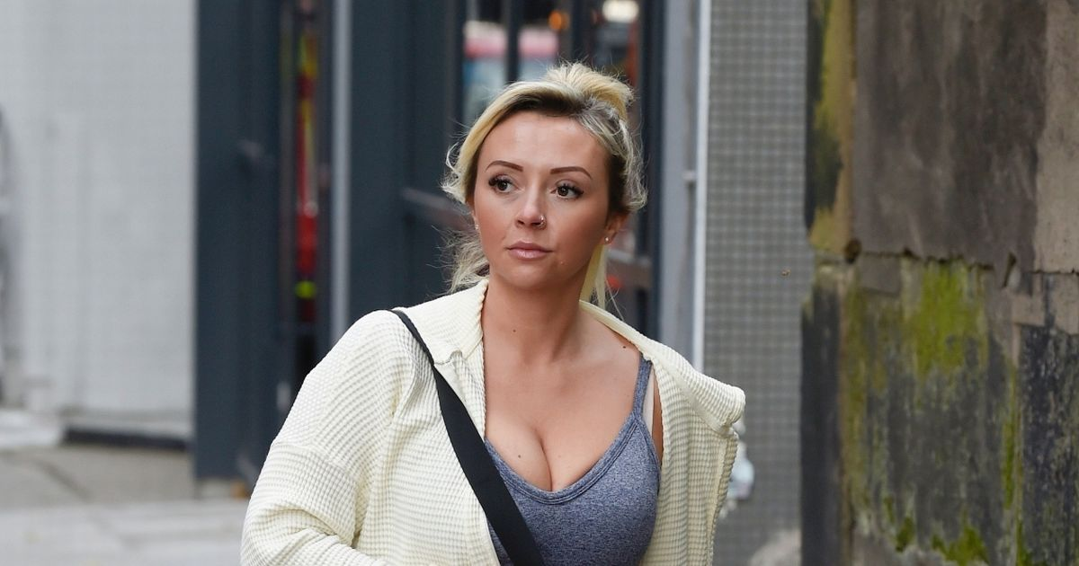 Corrie's Kimberly Hart-Simpson looks worlds away from Nicky ahead of workout