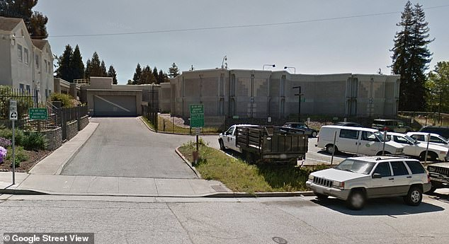 The former nurse had been hospitalized since September 28, when he stabbed himself in the jail (pictured)